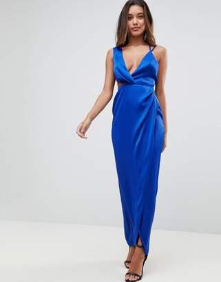 Asos DESIGN Sexy Cut Out Strappy Maxi Dress