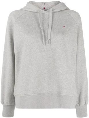 Tommy Hilfiger logo back embroidered hoodie