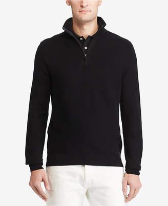 Polo Ralph Lauren Men's Half-Zip Pullover $165 thestylecure.com