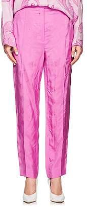 Nina Ricci Women's Logo-Jacquard Twill Trousers