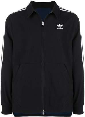 adidas logo sports jacket