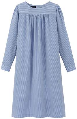 A.P.C. Cassie Dress in Bleu