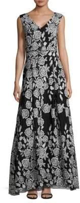 Rose Floor-Length Dress