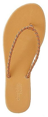 Braided Strap Thong Sandals $0.99 thestylecure.com