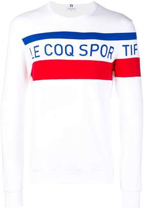 Le Coq Sportif logo printed long sleeve T-shirt