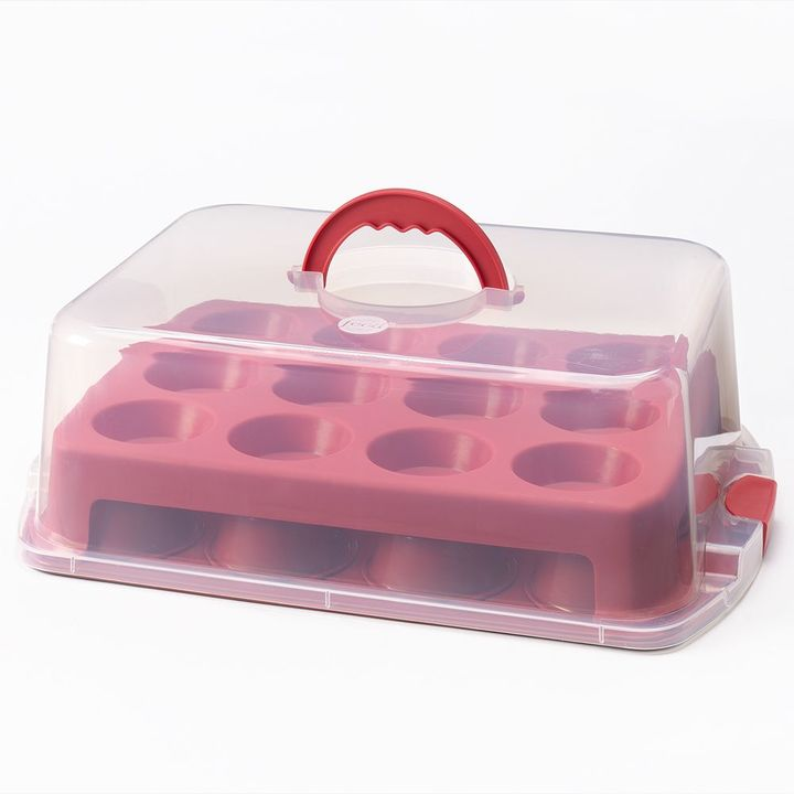 Food NetworkTM 2-Layer Cupcake & Muffin Carrier