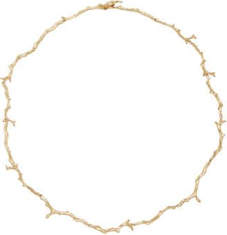 Annette Ferdinandsen Coral Stick Strand 14K Gold Necklace