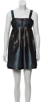 Issey Miyake Sleeveless Silk Dress