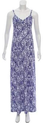 Susana Monaco Patterned Maxi Dress