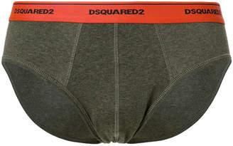 DSQUARED2 slim logo briefs