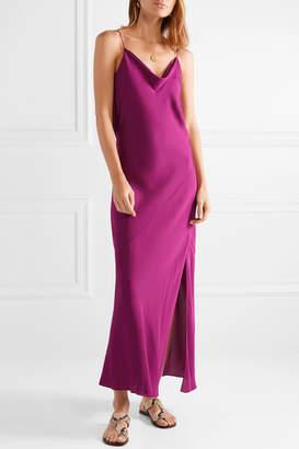 Theory Silk-georgette Maxi Dress - Pink