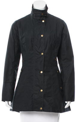 Barbour Holsteiner Waxed Jacket w/ Tags $175 thestylecure.com