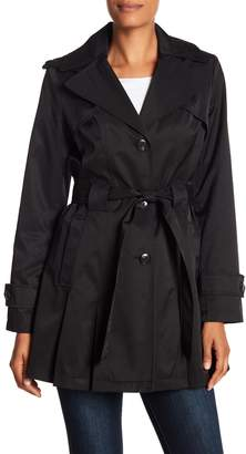 Via Spiga Detachable Hood Trench Coat