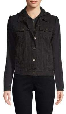 Bailey 44 Janis Cotton Denim Hooded Jacket