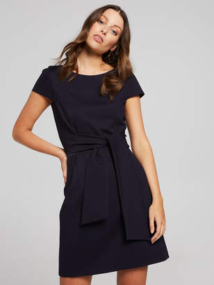 Portmans Australia Maisie Tie Waist Ponte Dress
