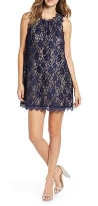 Speechless Sequin Lace Shift Dress