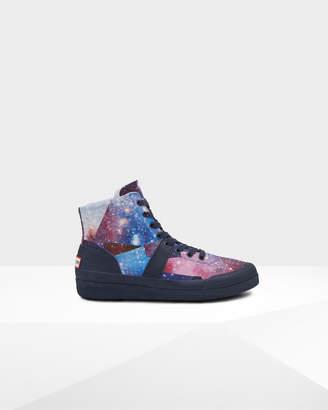 Hunter Men's Original Space Camo Hi Canvas Sneakers