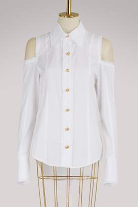 Balmain Cold shoulder shirt