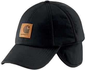Carhartt Mens Branded Work Flex Ear Flap Cap