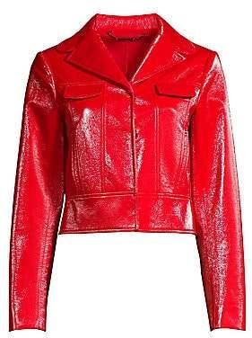 Elie Tahari Women's Gigi Moto Jacket
