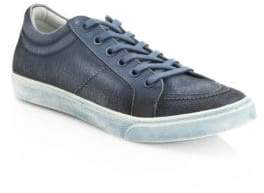 Saks Fifth Avenue Canvas Spray Paint Sneakers