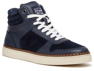 Original Penguin Byron Leather & Suede Contrast Sneaker