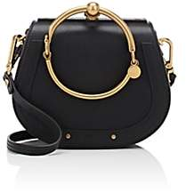 Chloé Women's Nile Small Leather Crossbody Bag - Black