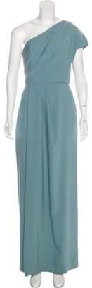 Lela Rose Bridesmaid One-Shoulder Gown