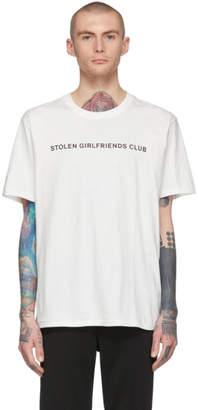 Stolen Girlfriends Club White Logo T-Shirt