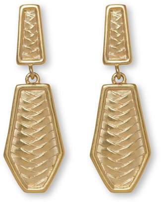 Vince Camuto Jewelry Herringbone Clip-on Earrings