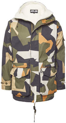 ARK AIR Fury Master Cotton Parka with Wool-Blend Lining
