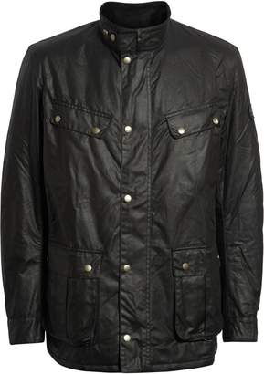 Barbour 'Duke' Regular Fit Waterproof Waxed Cotton Jacket