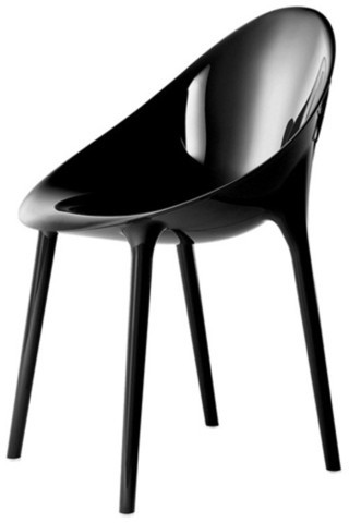 Kartell Super Impossible Chair Black