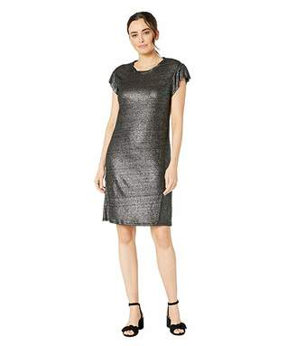 MICHAEL Michael Kors Linen Ruffle Dress