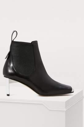 Loewe Blade heeled ankle boots