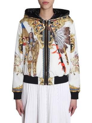 Versace Double Face Bomber Jacket