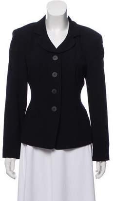 DKNY Wool Button-Up Blazer