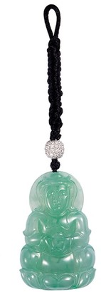 LC Collection Jade Jade 18k white gold Buddha pendant