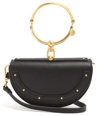 Chloé Nile Minaudiere Small Leather Clutch - Womens - Black