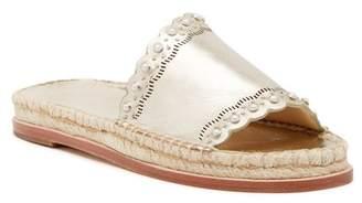 Pour La Victoire Pia Leather Slide Sandal