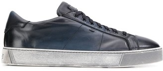 Santoni ombré-effect low-top sneakers