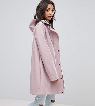 Asos Tall DESIGN Tall fleece lined raincoat