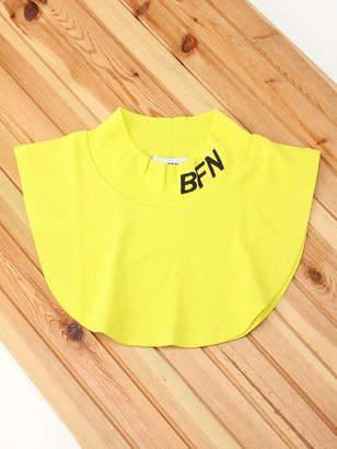 WEGO (ウィゴー) - BROWNY BROWNY/(L)ロゴハイネック付け襟 ウィゴー ファッショングッズ