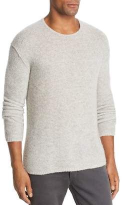 John Varvatos Collection Tuck Cashmere & Silk Garter-Stitch Sweater