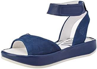 Fly London Women's Bibb854Fly Ankle Strap Sandals,40 EU