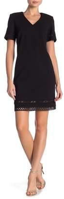 Calvin Klein Lace V-Neck Dress