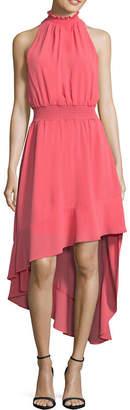 BELLE + SKY Sleeveless Smocked Waist Dress