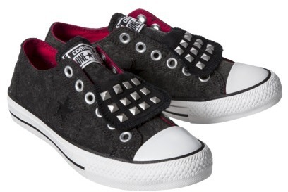 Converse Women's One Star® Studded Sneaker - Black