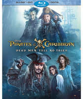 Disney Pirates of the Caribbean: Dead Men Tell No Tales Blu-ray Combo Pack