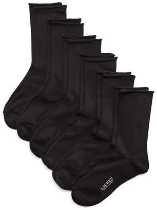 Ralph Lauren Roll Top Trouser Socks, Set of 6